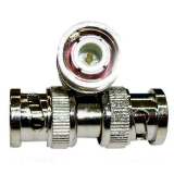 DOBLE M BNC CABLES Y CONECTORES-CONECTOR DOBLE BNC MACHO (BOLSA 25 UNIDADES)