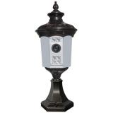 LAMP IR 27 CÁMARAS OCULTAS-CÁMARA OCULTA EN FAROLA EXTERIOR TOTALMENTE OPERATIVA. ILUMINACION CON LE